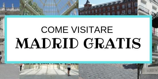 Visitare Madrid spendendo poco