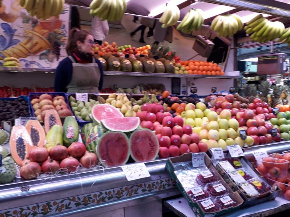 mangiare nei mercati
