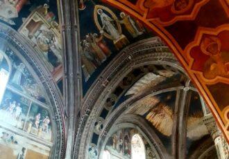 interni basilica santa caterina d'alessandria