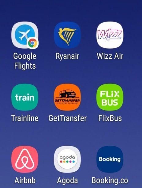 Le applicazioni utili per chi viaggia