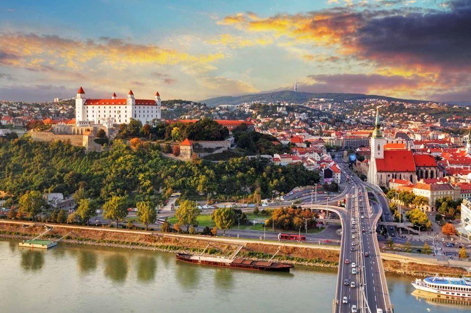 Viaggio di gruppo Vienna e Bratislava
