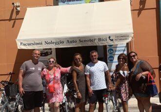 Girare Favignana con la bicicletta